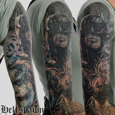 Hellspawn custom Tattoo Oslo by Jimmy
